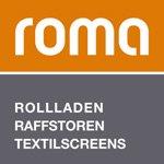 Logo ROMA - Rolladen - Raffstore  -  Textilscreens - Garagentore