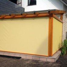 TextilScreen Terrassendach