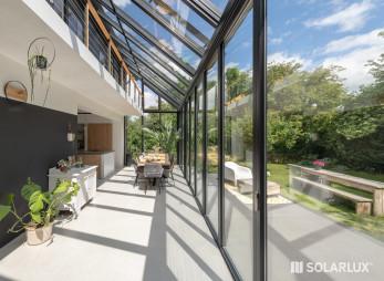 Solarlux Wintergarten Sdl- Akzent plus Ecoline
