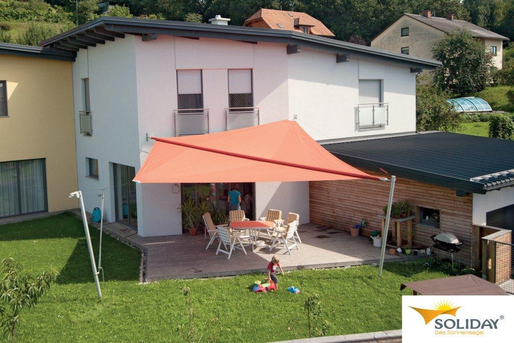 Soliday Sonnensegel Bildbeispiel Beschattung Terrasse