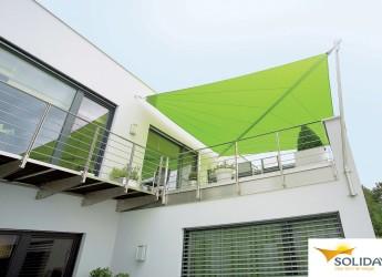 Soliday Sonnensegel Bildbeispiel Balkonbeschattung