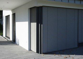 Mehrfamilienhaus Raffstorensysteme ROMA